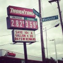 Macy Gould shared this photo from Lexington, Ky., where the gas prices are under three dollars.