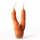 A still from the Intermarché campaign for ugly fruits and vegetables.