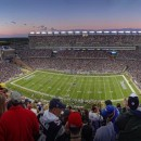 Gillette Stadium in Foxborough, Mass.