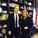 Holyoke Mayor Alex Morse and Mass. Lt. Gov. Karyn Polito, at city hall on Jan. 29, 2015.