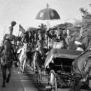 President Eisenhower and Pakistan President Mohammed Ayub Khan ride through the streets of Karachi in 1959. This wouldn't happen today.