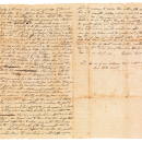 The letter from Epaphras Hoyt to his brother in 1787 garnered $35,000 at auction.