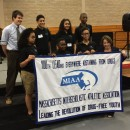 MA Attorney General Maura Healey with Middle School Students from Springfield, MA