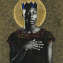 "Photographer Gabriel Garcia Roman's ""Queer Icons"" series portrays queer people of color as saints and warriors. Jahmal Golden is a poet and a student at The New School."
