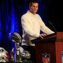 Tom Brady of the New England Patriots was named MVP of the Patriots' Super Bowl win over the Seattle Seahawks. A new NFL report suggests he was aware of cheating by team personnel who tampered with game balls.