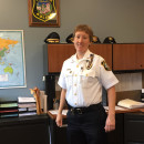 Jody Kasper is the first female police chief of Northampton, Mass.