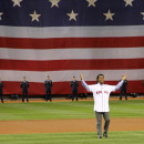 Pedro Martinez at Opening Day