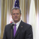 Mass. Gov. Charlie Baker, during a press availability on July 8, 2015.