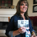Dana Bowerman's lifelong best friend Michelle Elliott holds a photograph of the two together. Bowerman is serving a nearly 20 year sentence for federal drug conspiracy charges. She was holding out hope for clemency for nonviolent drug offenders but it is unlikely that she will receive an early release date.