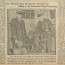 Pep is featured in the Dec. 26, 1925 issue of the Boston Daily Globe. But Gov. Pinchot's wife, Cornelia, later set the tall tale straight in an interview with The New York Times.