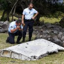Debris from an airplane that was found on the Indian Ocean island of Reunion has been transported to France, where technicians will try to determine whether it is from a missing airliner, Flight MH370.