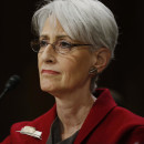 Undersecretary of State for Political Affairs Wendy Sherman testifies before the Senate Foreign Relations Committee in 2014. Sherman was the lead U.S. negotiator on the Iran nuclear deal. She stepped down from her post last week and is now teaching at Harvard.