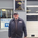 Ernie Booth, owner of Ernie's Garage, in Northampton MA, which is shutting down its gasoline pumps after nearly 50 years of service