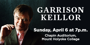 Garrison Keillor at Chapin Auditorium