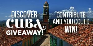 Cuba giveaway
